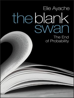 cover image of The Blank Swan